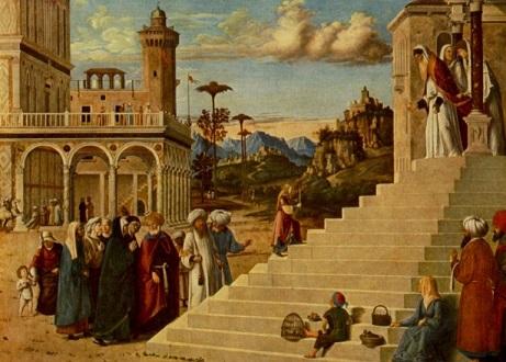 Presentación de la Virgen María en el Templo (Dresden, Gemäldegalerie)-b