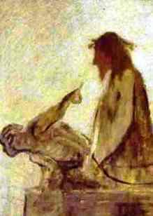 ecce homo_Honore Daumier. 1849-52. Museum Folkwang, Essen,_bl