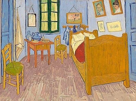 La chambre d'Arlés, Vincent van Gogh, 1889.