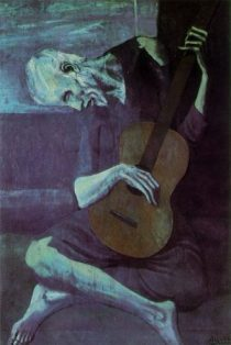 picasso_old_guitarist1881-1973